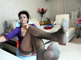 Foot fetish and stockings porn