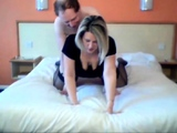 girl fucking in a hotel room