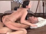 Old husband young wife anal xxx Vacation in mountains
