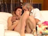 Old young tied and german daddy Unexpected experience