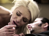 Blonde taboo whore sucks