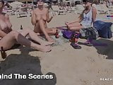 ANABEL & GEORGIA TOPLESS BEACH INTERVIEW