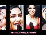 Samantha Cum tribute Montage - Birthday special