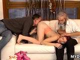 Old compilation and naughty daddy spank fuck xxx
