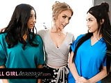 Training Turns Into Threesome During Lena Pauls Inspection
