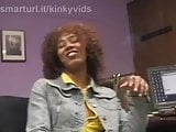 Misty Stone Smokes a Cigarette About to Get Naked and Fucked