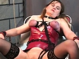 Hawt female fucked and stimulated in extraordinary slavery