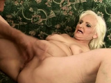 Sinful blonde Marianne blows and rides fang