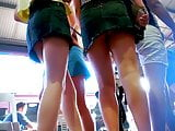 Cute Girls With Miniskirt Upskirt Mix