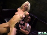 Teen amateur bondage orgasm and extreme first time