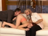 Teen solo toying Unexpected experience with an older