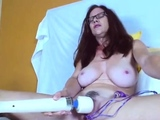 Live Chat with Busty Redhead Toying Her Pussy