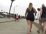 BLONDE BBW PAWG WITH THICK THIGHS PT1