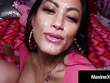 Asian Mommy MaxineX Gives Latina Crush Cock Pleasing Lesson!