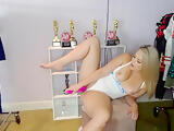 CamSoda - Alexis Texas toys her pussy and fingers ass