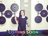COMING SOON GIOVANA SPYED IN THE GYM BATH