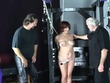 Sassy maiden is playing with her nice marital-device