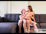DADDY4K. Beautiful redhead has sex with bf