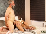 Daddy gives me big load and girl blowjob xxx Surprise