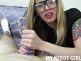 Nerdy girls get really horny too you know JOI