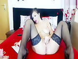 Exotic homemade Stockings, LiveJasmin xxx video