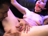Bdsm double penetration He grabs her forearm and puts it