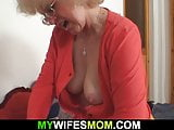 Girlfriends hot mom sucks and rides his cheating cock