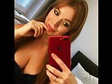Dumb Russian instagram whore Arina Makarova cleavage comp.