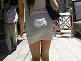 TCG Mini Dress tighrt candid voyeur sexy girl