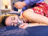Extreme bondage orgasm and summer bound gagged first time