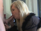Milf Thing Cock loving milf fucking 2 huge cocks