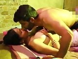 Desi Wife fucking hard with lover in front of her Husband
