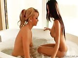 Amazing Lesbian Action Between Friends And Make Arouse