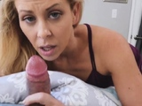 Skinny blonde milf with big boobs first time Stepcronys