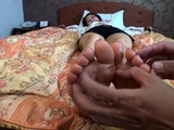 Foot worship Foot Choke