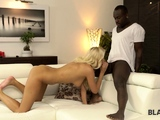 BLACK4K. Black gentleman makes beautiful teen lady