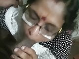 indian mom giving blowjob