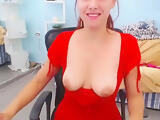 BelovedKeira took off her red dress