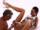 Old man and two s xxx Finally shes got her chief dick