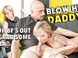 DADDY4K. Old man fucks Angel who has just graduated