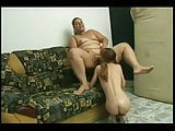 Nasty Fat BBW latina getting pussy and ass sucked by GF-2